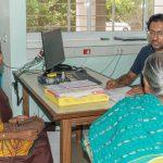 Dr. Manoj at work